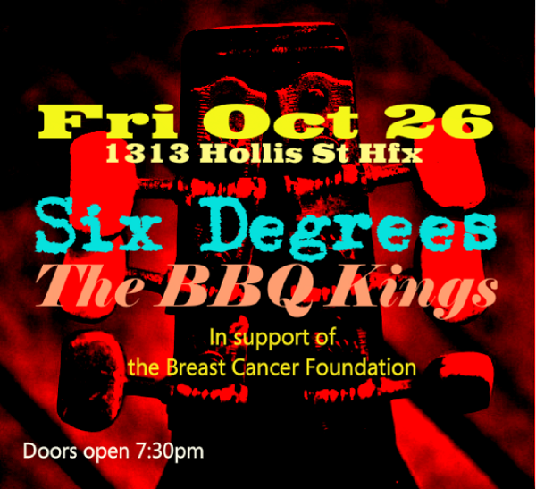 Six Degrees & The BBQ Kings @ 1313 Hollis